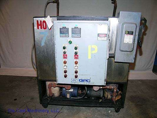 Picture of QPC  Dual (two) Zone Portable Hot Oil Process Heater Temperature Control Unit For Sale DCMP-1193