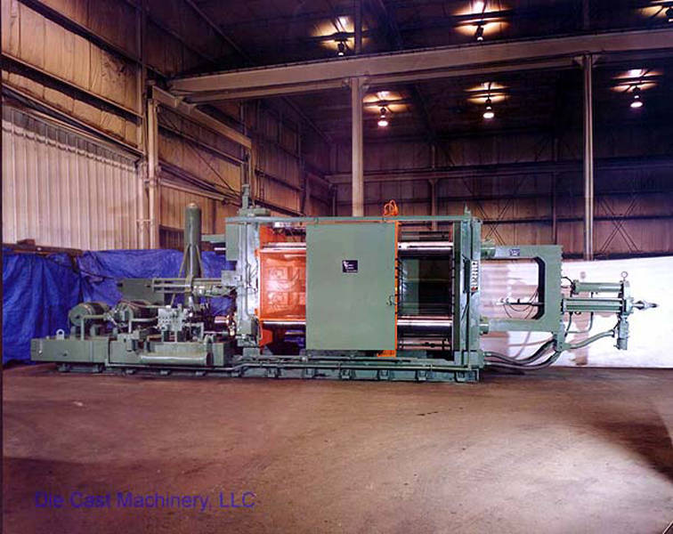 Picture of HPM D-1200-A Horizontal Cold Chamber Aluminum High Pressure Die Casting Machine For Sale DCMP-1337