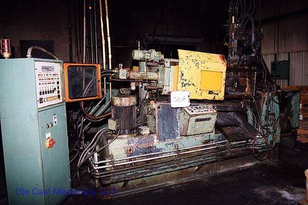 Picture of Frech DAW 63 Horizontal Hot Chamber Zinc (Zamak) High Pressure Die Casting Machine For Sale DCMP-1343
