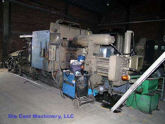 Picture of HPM D-600-A Horizontal Cold Chamber Aluminum High Pressure Die Casting Machine For Sale DCMP-1365