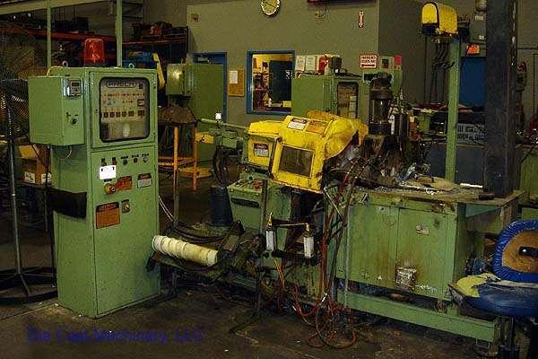 Picture of Frech DAW 5 Horizontal Hot Chamber Zinc (Zamak) High Pressure Die Casting Machine For Sale DCMP-1368