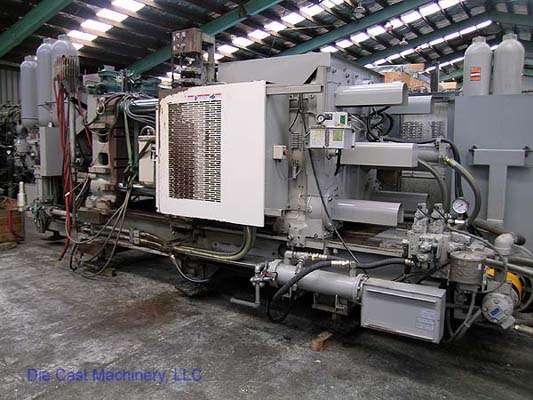 Picture of Toyo Machinery BD-500V4-N Horizontal Cold Chamber Aluminum High Pressure Die Casting Machine For Sale DCMP-1370