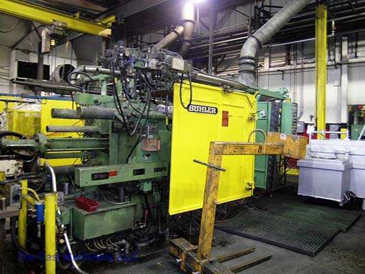 Picture of Buhler GDM H-400-B Horizontal Cold Chamber Aluminum High Pressure Die Casting Machine For Sale DCMP-1411
