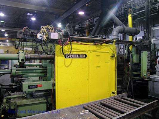 Picture of Buhler GDM-H-400B Horizontal Cold Chamber Aluminum High Pressure Die Casting Machine For Sale DCMP-1412