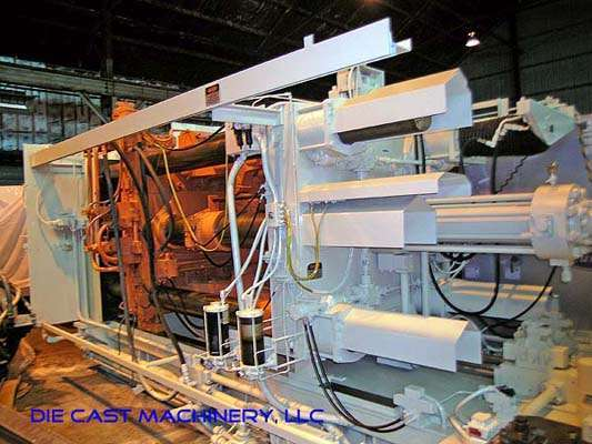 Picture of HPM II-1200-A Horizontal Cold Chamber Aluminum High Pressure Die Casting Machine For Sale DCMP-1436