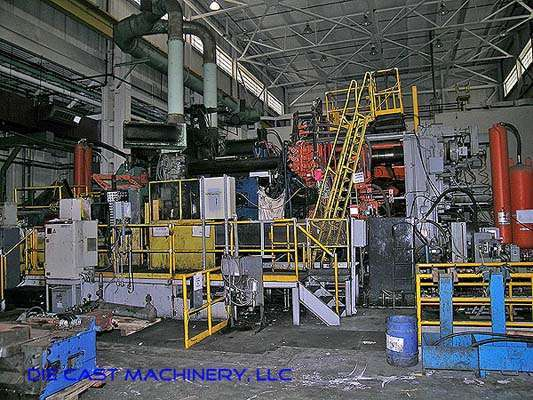 Picture of Prince 3067 Horizontal Cold Chamber Aluminum High Pressure Die Casting Machine For Sale DCMP-1509