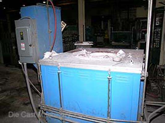 MS-400-MG, magnesium melting furnace