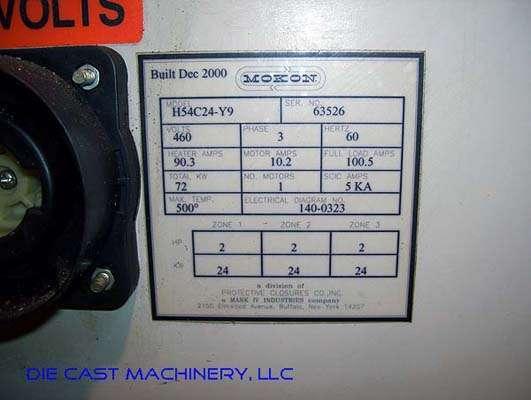 H54C24-Y9 Three zone, 24 KW per Zone, New 2004