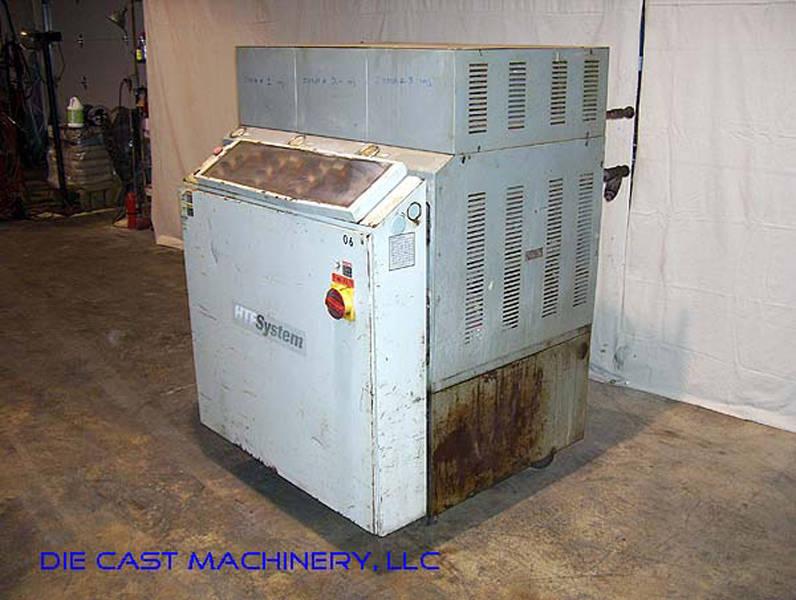 Used Mokon 24 KW Three Zone Hot Oil Temperature Control Unit For Sale DCM 1726
