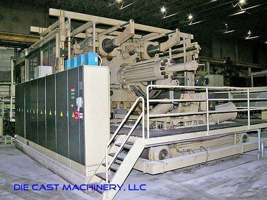 Picture of Idra OL-4000 Horizontal Cold Chamber Magnesium High Pressure Die Casting Machine For Sale DCMP-1730