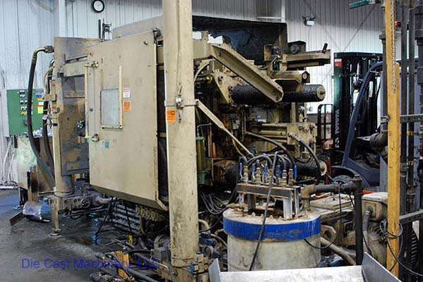 Used HPM II-400-Z 400 Hot Chamber Die Casting Machine For