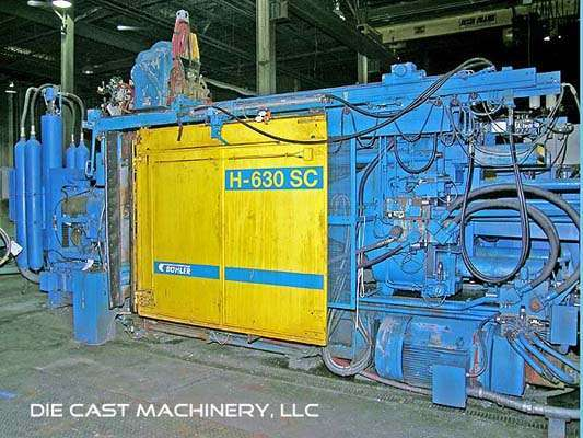 Picture of Buhler H-630 SC Horizontal Cold Chamber Aluminum High Pressure Die Casting Machine For Sale DCMP-1864