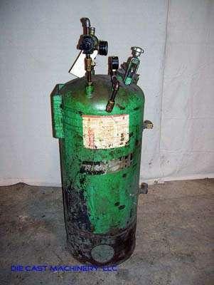 Used Rimrock 30 gallon Pressurized Die Lube Spray Tank DCM 1880