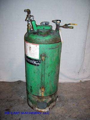 Used Rimrock 30 gallon Pressurized Die Lube Spray Tank DCM 1882