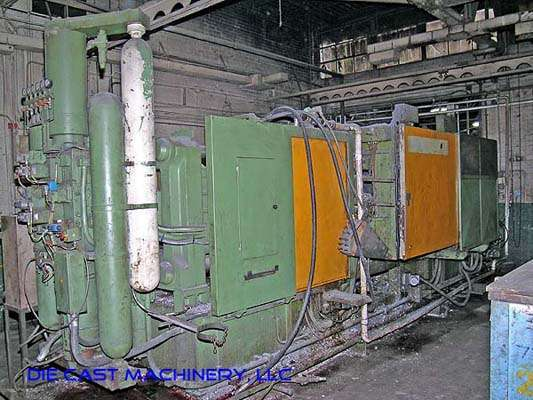 Picture of Italpresse IP-750 SC Horizontal Cold Chamber Aluminum High Pressure Die Casting Machine For Sale DCMP-1894