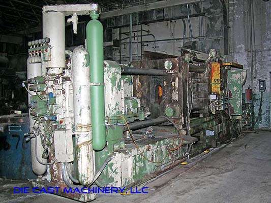 Picture of Italpresse IP-750 SC Horizontal Cold Chamber Aluminum High Pressure Die Casting Machine For Sale DCMP-1895