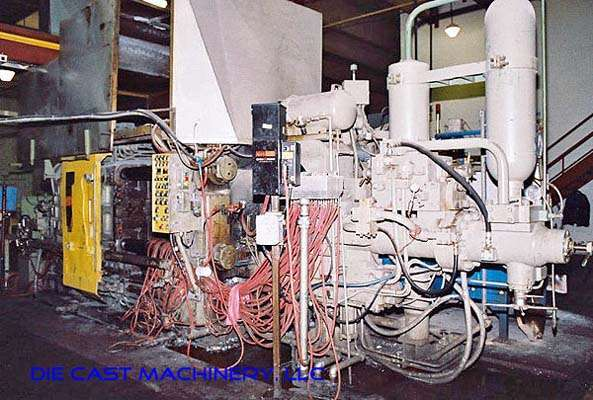 Picture of Toshiba DC-650-CE Horizontal Cold Chamber Aluminum High Pressure Die Casting Machine For Sale DCMP-1900