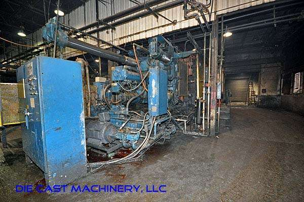 Picture of Prince 1651 CCA Horizontal Cold Chamber Aluminum High Pressure Die Casting Machine For Sale DCMP-1912