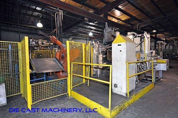 Picture of Prince 633 CCA Horizontal Cold Chamber Aluminum High Pressure Die Casting Machine For Sale DCMP-1922