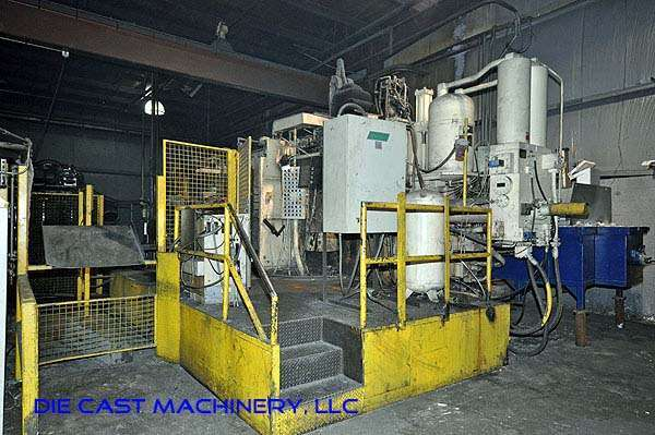 Picture of Prince 1246 CCA Horizontal Cold Chamber Aluminum High Pressure Die Casting Machine For Sale DCMP-1924