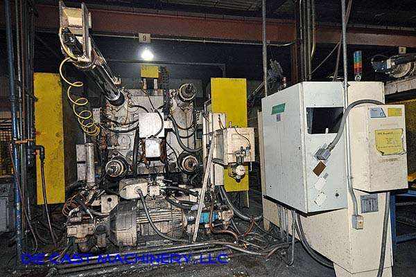 Picture of Prince 1246 CCA Horizontal Cold Chamber Aluminum High Pressure Die Casting Machine For Sale DCMP-1926