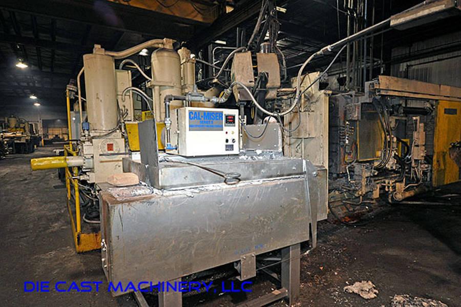 2700 pound capacity, gas holding furnace