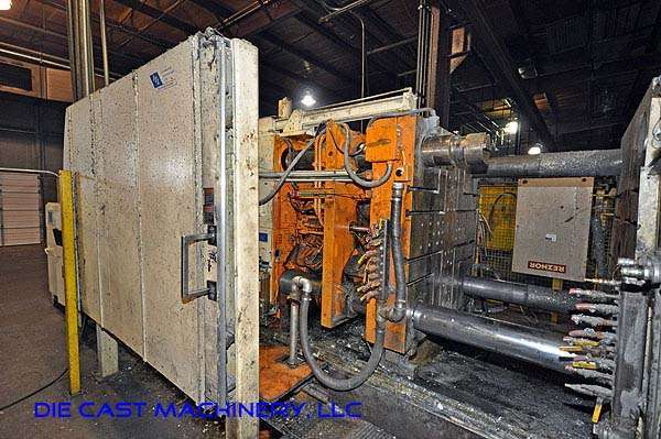 Picture of Prince 836 Horizontal Cold Chamber Aluminum High Pressure Die Casting Machine For Sale DCMP-1930