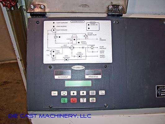 Model M2B2016-U1 48 kw Single Zone Hot Oil Temperature Control Unit