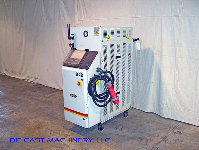 Used Sterlco oil heaters process temperature controller unit 48 KW Single Zone Sterlco equipment Hot Oil Die Temperature Control Unit For Sale Die Cast Machinery LLC Inventory 1951