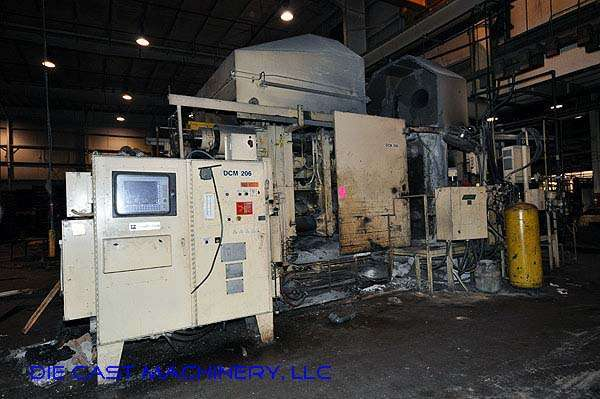 Picture of Prince 1651 CCA Horizontal Cold Chamber Aluminum High Pressure Die Casting Machine For Sale DCMP-1956