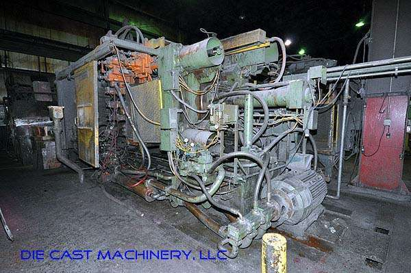 Picture of Prince 1246CCA Horizontal Cold Chamber Aluminum High Pressure Die Casting Machine For Sale DCMP-1957
