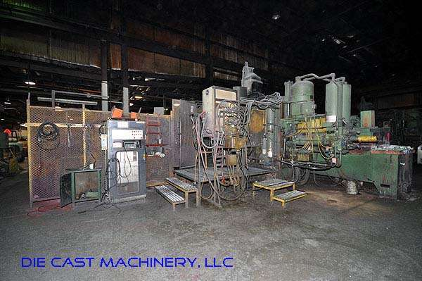 Picture of Prince 1246CCA Horizontal Cold Chamber Aluminum High Pressure Die Casting Machine For Sale DCMP-1958