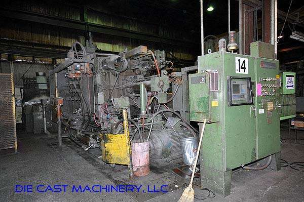 Picture of Prince 1246CCA Horizontal Cold Chamber Aluminum High Pressure Die Casting Machine For Sale DCMP-1959