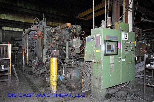 Picture of Prince 1246 CCA Horizontal Cold Chamber Aluminum High Pressure Die Casting Machine For Sale DCMP-1960