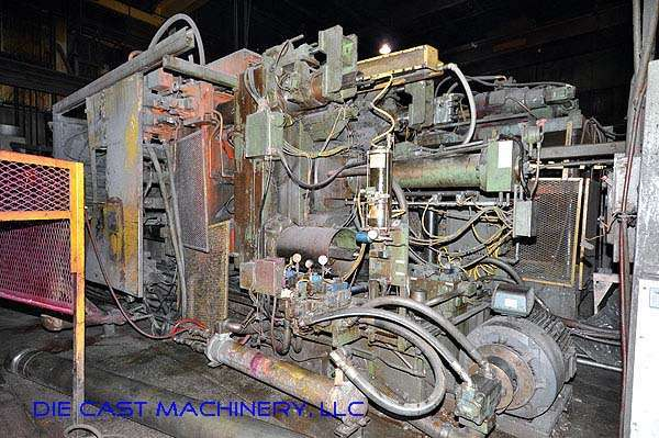 Picture of Prince 1246 CCA Horizontal Cold Chamber Aluminum High Pressure Die Casting Machine For Sale DCMP-1961