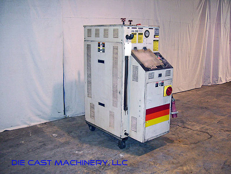 Used Sterlco oil heaters process temperature controller unit 36 KW Single Zone Sterlco equipment Hot Oil Die Temperature Control Unit For Sale Die Cast Machinery LLC Inventory 1969