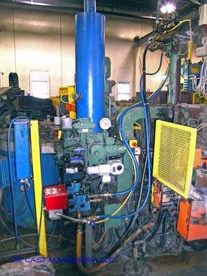 Picture of Toshiba DC135-H-T2 Horizontal Cold Chamber Aluminum High Pressure Die Casting Machine For Sale DCMP-1996