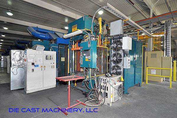 Picture of Ube UA 900it Horizontal Cold Chamber Aluminum High Pressure Die Casting Machine For Sale DCMP-2015