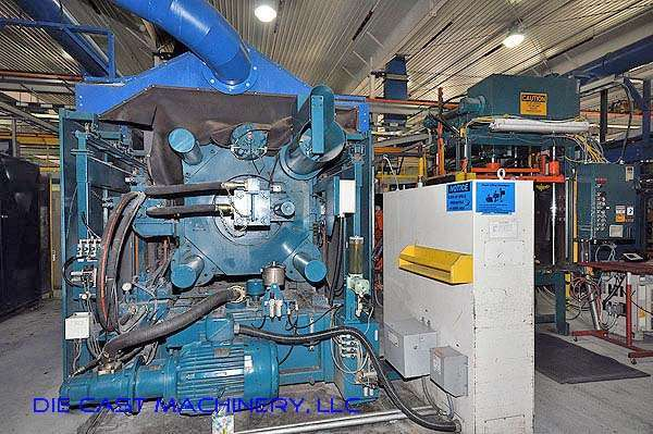 Picture of Ube UA 900it Horizontal Cold Chamber Aluminum High Pressure Die Casting Machine For Sale DCMP-2021