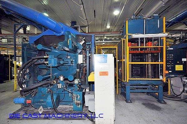 Picture of Ube UA 900it Horizontal Cold Chamber Aluminum High Pressure Die Casting Machine For Sale DCMP-2039