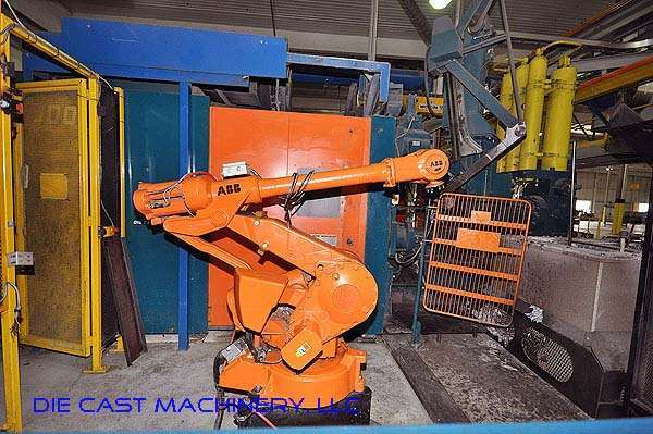 Used ABB IRB 4400 Foundry Robot For Sale DCM 2042