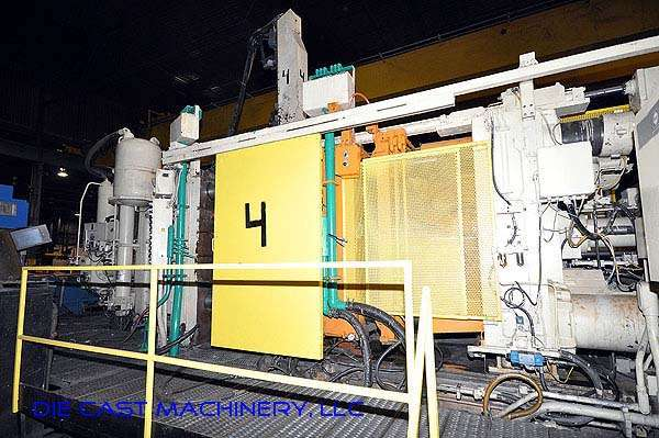 Picture of Prince 1246 CCA Horizontal Cold Chamber Aluminum High Pressure Die Casting Machine For Sale DCMP-2120