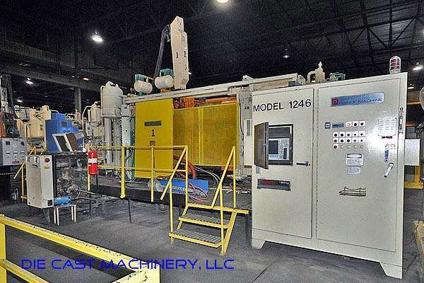 Picture of Prince 1246 CCA Horizontal Cold Chamber Aluminum High Pressure Die Casting Machine For Sale DCMP-2126