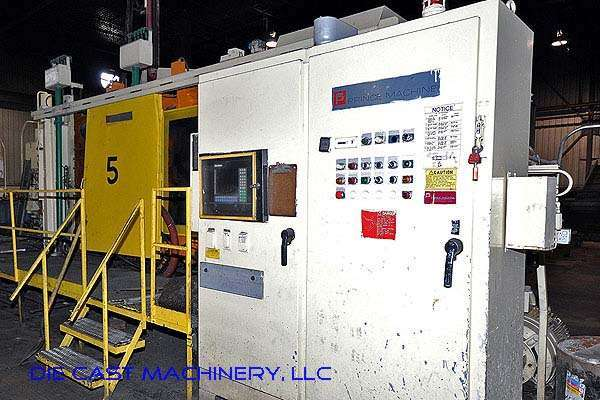 Picture of Prince 1651 CCA Horizontal Cold Chamber Aluminum High Pressure Die Casting Machine For Sale DCMP-2127