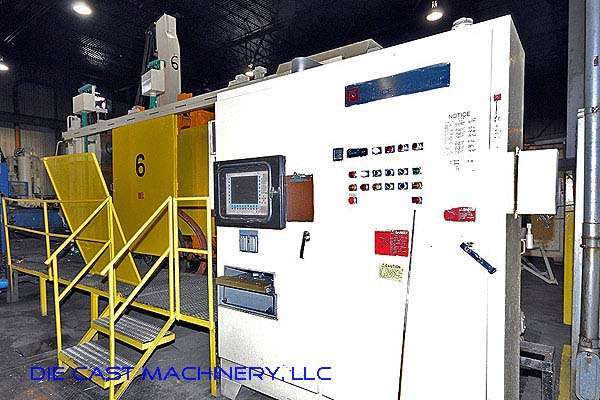 Picture of Prince 1651 CCA, Horizontal Cold Chamber Aluminum High Pressure Die Casting Machine For Sale DCMP-2128
