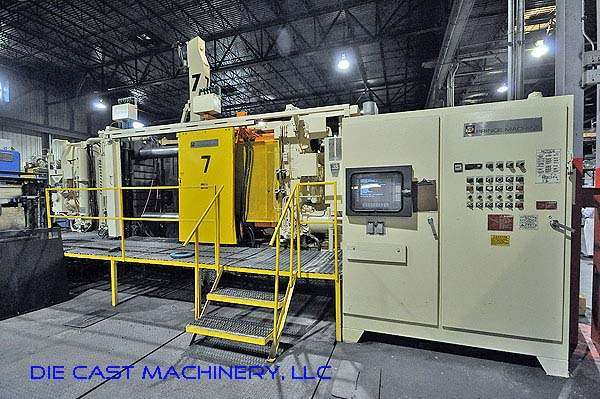 Picture of Prince 1446 CCA Horizontal Cold Chamber Aluminum High Pressure Die Casting Machine For Sale DCMP-2129