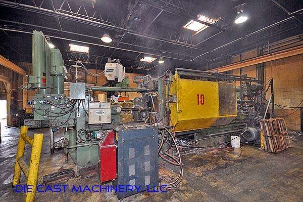 Picture of Weingarten GDK750 Horizontal Cold Chamber Aluminum High Pressure Die Casting Machine For Sale DCMP-2149