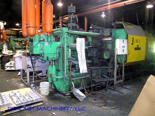 Picture of Weingarten GDK600 Horizontal Cold Chamber Aluminum High Pressure Die Casting Machine For Sale DCMP-2152