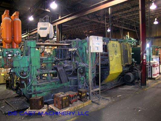 Used Weingarten GDK500 5800 kN Cold Chamber Die Casting