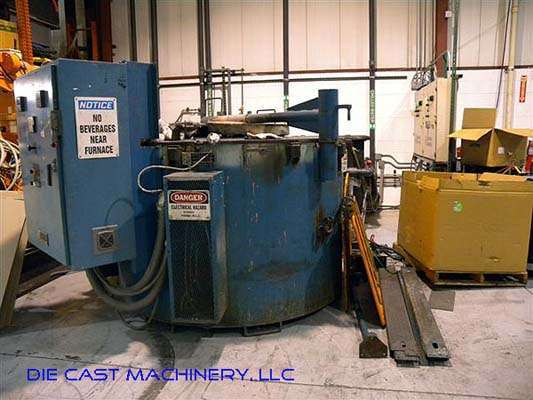 700 pounds per hour Melting/Holding Furnace